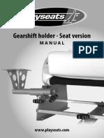 Manual Gearshift Holder