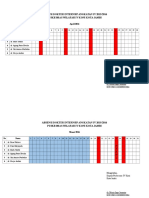 Absensi Dokter Internsip Angkatan IV 2015