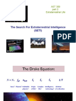 the research for extraterrestrial intelligence