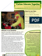 Newsletter 2010 April