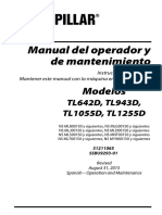 Manual Del Operador y Mantenimiento TL642D