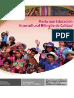 Propuesta pedagógica de educación intercultural bilingüe (EIB)