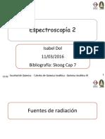 Clase 4 -11 03 2016 fuentes y monocromadores.pdf