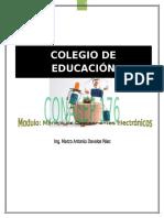 Manual Alumnos Manejo de componentes electrónicos