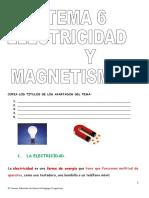 Tema 6 Electricidad y Magnetismo
