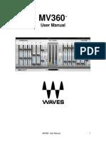 MV360 Waves Plugin