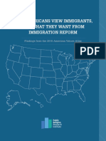 Public Religion Research Institute Immigration Report