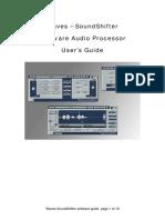 Sound Shifter Waves Plugin