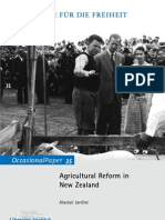 Agricultural Reform in New Zealand, Alastair Jardine