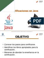 Las Certificaciones en Java