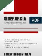 Presentacion de Siderurgia