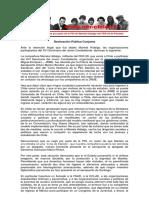 Declaración Pública Conjunta ante la detención ilegal de Mariela Hidalga, militante del FER-29 por parte de la PDI
