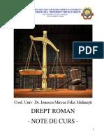 Drept Roman - Modul de Curs