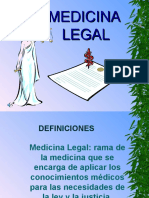 Diapositivas Medicina Legal
