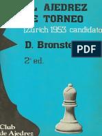 Bronstein D - El Ajedrez de Torneo 1953