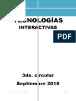 3° circular Congreso Nacional JTI--1 con aportes