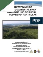 Semarnat Suspende Temporalmente Proyecto en El Tentzo