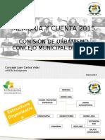 Memoria y Cuenta 2015.pptx