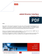 Director Interface Documentation- V3.5 R3