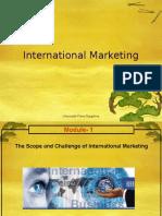 IM Module-1 International Marketing