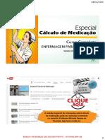 Calculo Medicacao