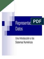 Representacion de los datos numericos