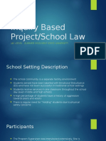 inquiry based projectlaw