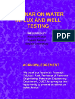 seminaronwaterinfluxandwelltesting-120622030930-phpapp01.pptx