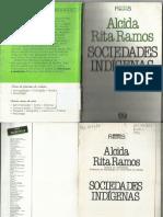 Livro - Sociedades Indígenas - Alcida Rita Ramos