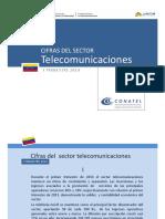 CONATEL - Cifras Del Sector Telecomunicaciones001-2014