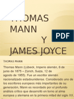 thomas mann y james joyce