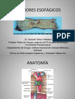 Gastro - Tumores Esofágicos