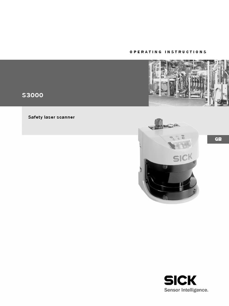 Operating Instructions S3000 Safety Laser Scanner en IM0011863 | Safety |  Image Scanner