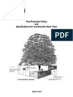 Tree Protection Policy and Specifications for Construction Near Trees [City of Toronto]