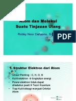 Bab 1 Atom Dan Molekul