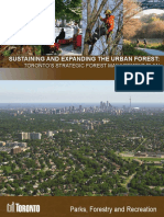 Toronto's Strategic Forest Management Plan 2012-2022