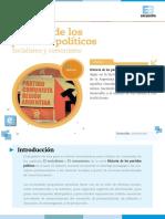 Historia de Los Partidos Políticos - Socialismo y Comunismo