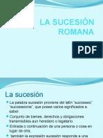 La Sucesión Romana