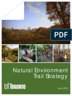 The City of Toronto's Natural Environment Trail Strategy (2013)