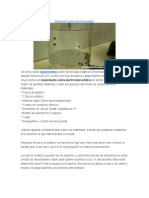 Experimento Sobre Electricidad Estática y Electroscopio Casero