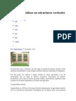 Cultiva Hortalizas en Estructuras Verticales