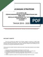 Pelan Strategik KoKurikulum 2016