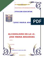El Alcoholismo en Las Instituciones Educativas