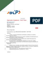 Operador Helpdesk - Part Time