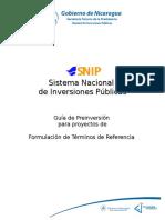 GUIA SECTORIAL FORMULACION DE TERMINOS DE REFERENCIA FINAL.doc