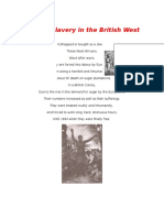 Slavery and its aftermath in the British West Indies
