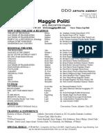 Maggie Politi PDF