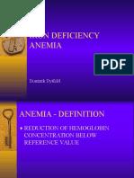 IM-iron Deficiency Anemia