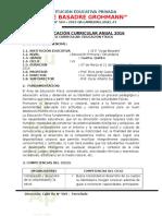 Programacio Anual de Ee.ff 4to y 5to