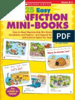 Nonfiction Mini Books